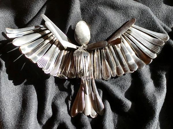 Silverware Bird
