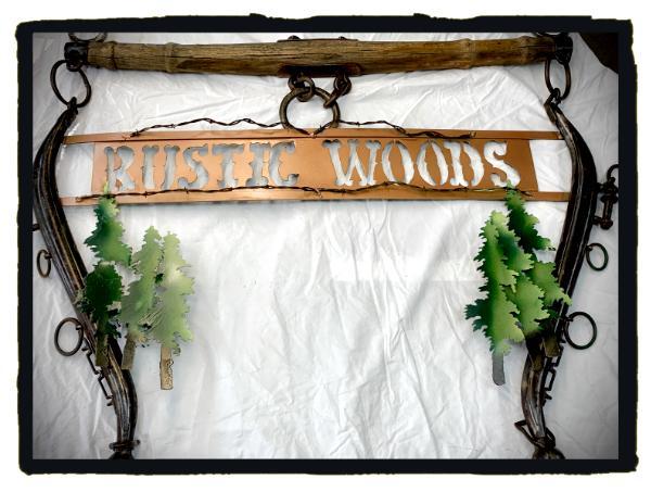 Rustic Woods Custom Sign