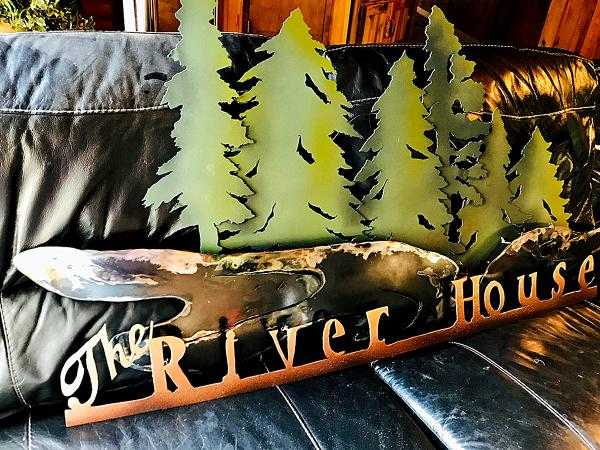 Local Bend Business Sign--The Riverhouse