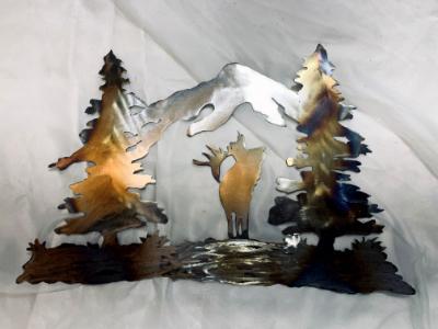 Elk Landscape Small