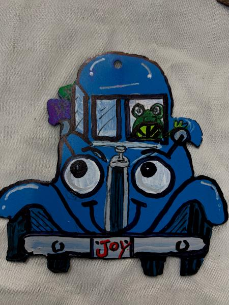 Blue Truck & Frog