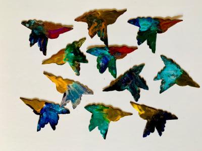 Spinning Hummingbirds