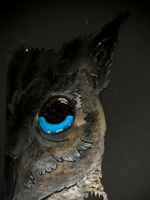 Half Face of Owl